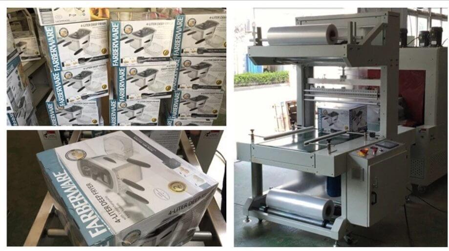 High Quality Film Shrink Packing Heat Egg Tray Wrap Machine