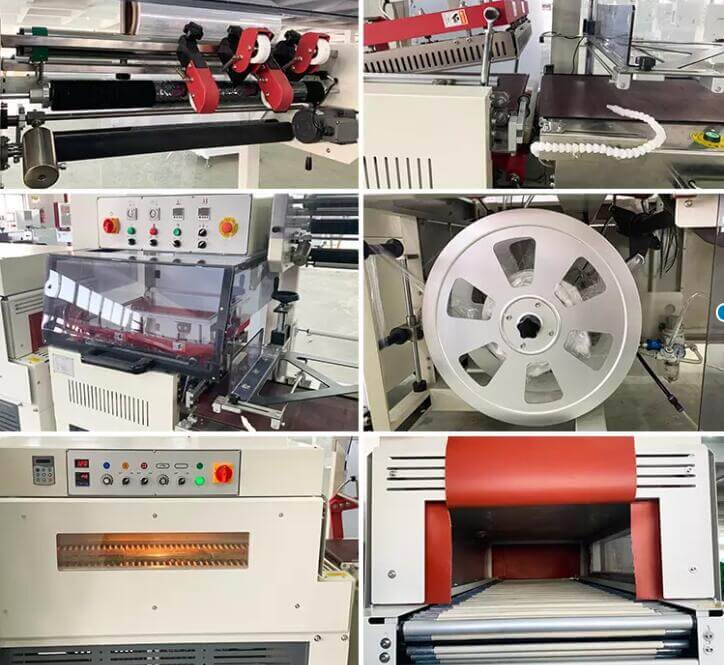 L bar thermo shrink packing machine