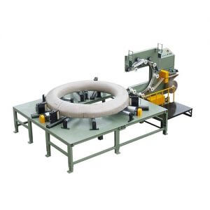 PC wire roll wrapping packing machine