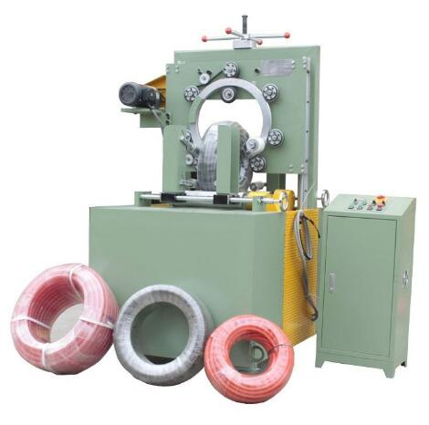 pipe coil wrapping machine packing hose coil and tube coil