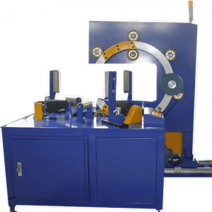 Copper coils and strips wrapping packing machine from Eman Packaging