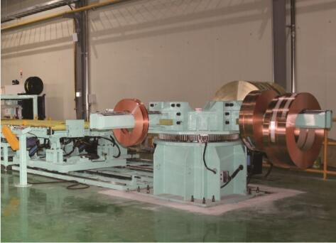 Automatic copper coil packing line