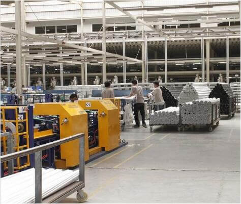 Automatic PVC pipe packing line