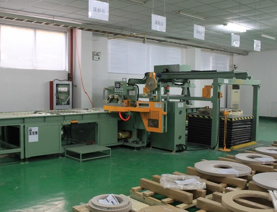 copper-coil-packing-line