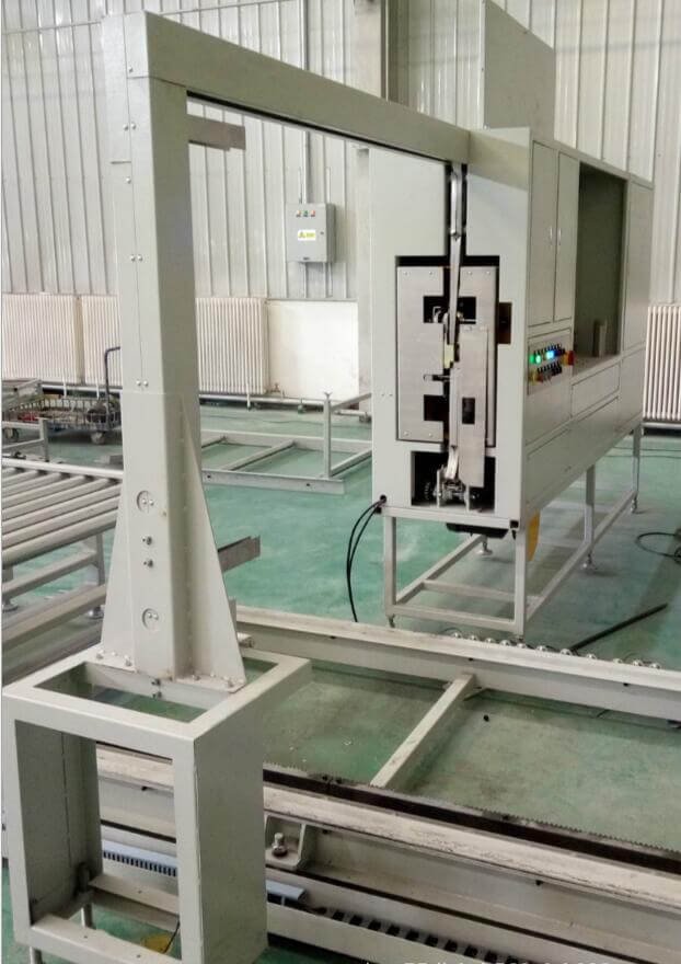 Manufacturer-made pallet balers automatic online pallet strapping machine