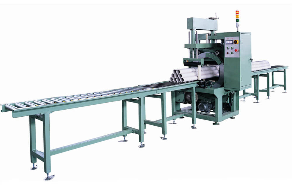 What's the best packaging machine for wrapping bundles of steel rods and steel studs?