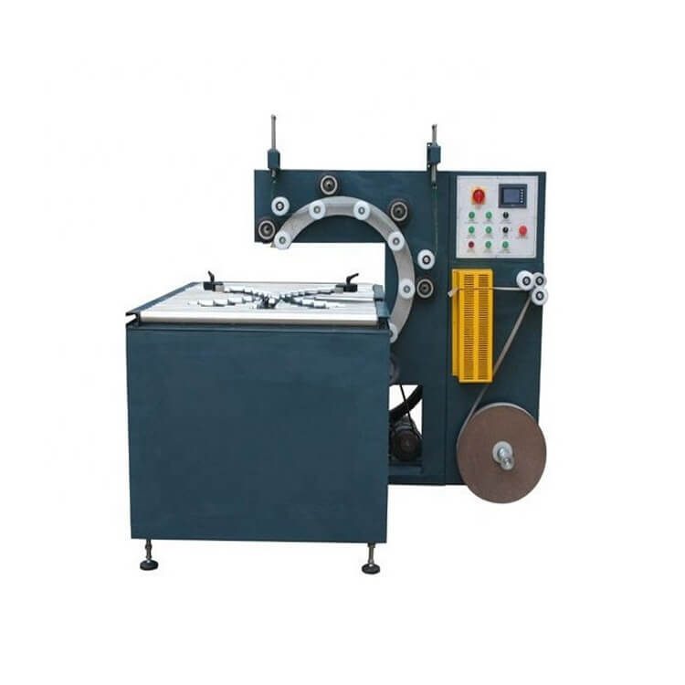 What is the coil and reel wrapping machine?
