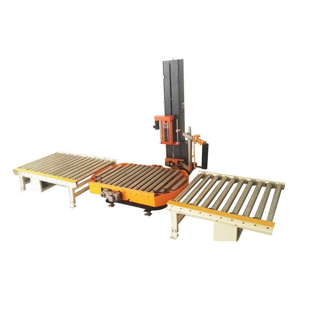 Automatic stretch film machine developing by innovation