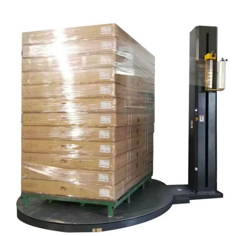 Troubles and solutions of stretch film wrapping machine